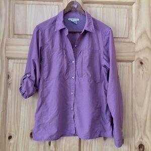 Exofficio active outdoor long sleeve shirt Sz M
